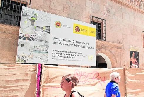 El Museo de la Catedral tendrá otro acceso por los soportales a través de un arco gótico