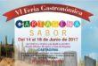 VI Feria Gastronómica de Cartagena Sabor