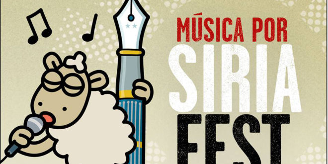 Realizarán el Música por Siria Fest