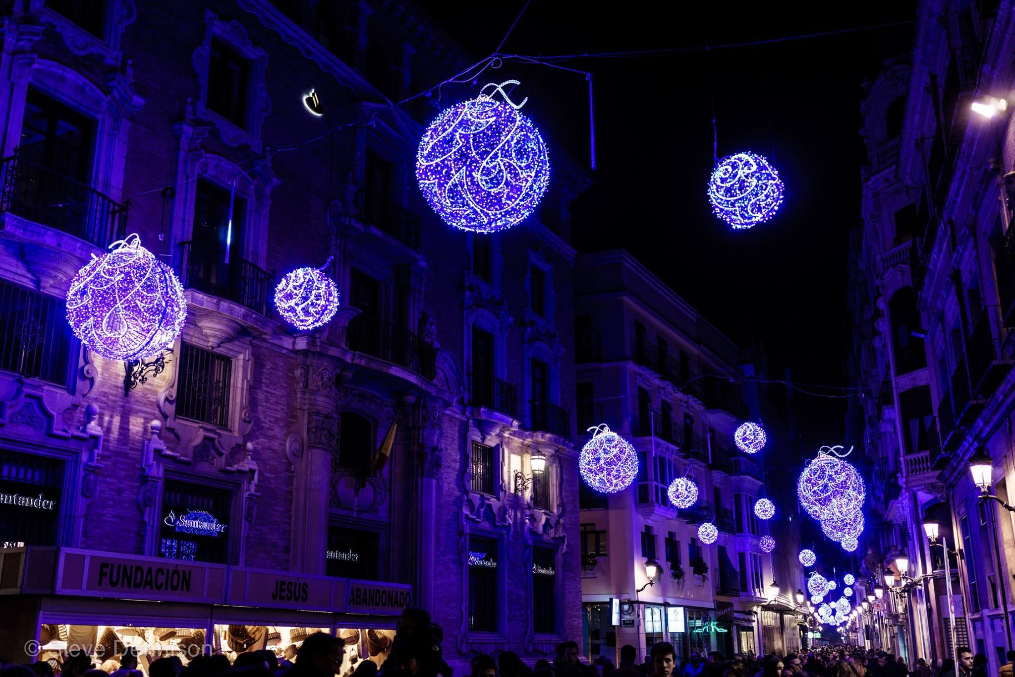 calles murca navidad