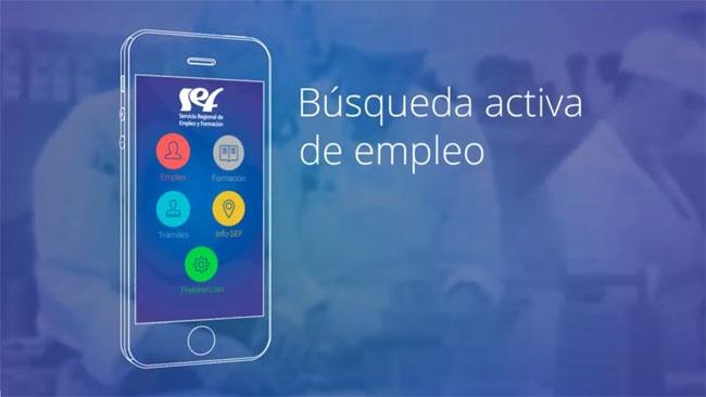 La comunidad lanza una aplicaci n m vil para facilitar la for Oficinas sef murcia