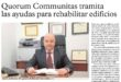 Administradores de fincas en Murcia tramitan las ayudas para rehabilitar edificios