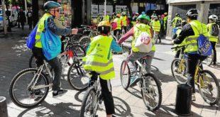 Bicifestación contra el cambio climático