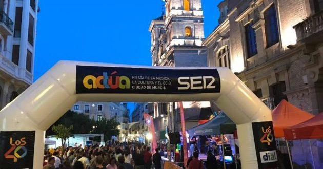 Disfruta de actúa Murcia 2018
