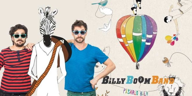 Billy Boom Band llega a Murcia