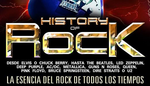 El History of Rock regresa a los escenarios