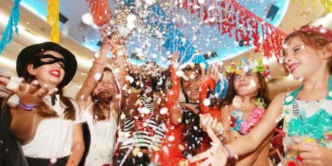 Disfruta del Carnaval Kids en el C.C. Thader