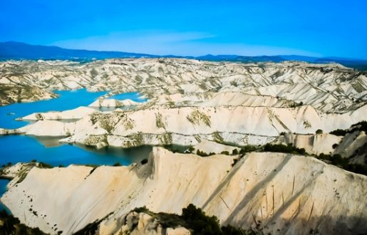 """Conoce los espectaculares paisajes de los """"Barrancos de Gebas"""""""