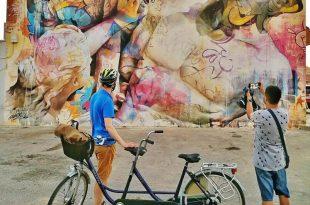 Disfruta del Arte Urbano en bici